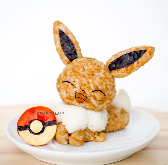 comida curiosidades kawaii  Los Bento Kawaiis de Pokemon!!