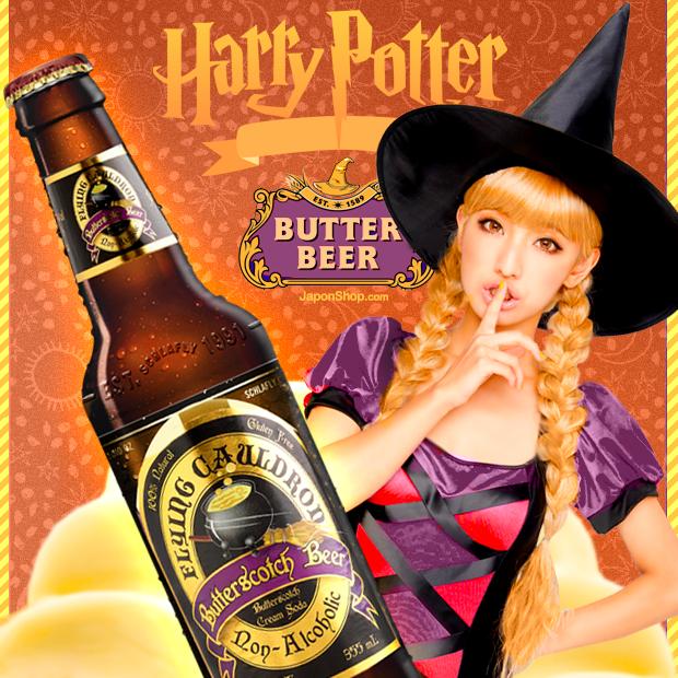 ¡Ahora en Japonshop! Cerveza de mantequilla Harry Potter