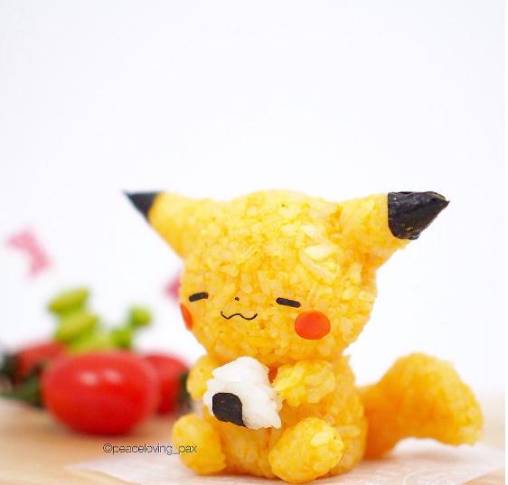 Los Bento Kawaiis de Pokemon!!
