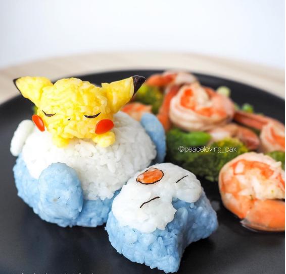 comida curiosidades kawaii  Chuches  bentos y arte gastronómico de Pokemon en Japonshop esta Navidad!