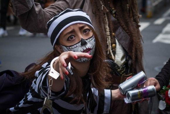 actualidad japon japonshop tokyo  Halloween en Tokyo en pleno Shibuya ambientazo a tope!