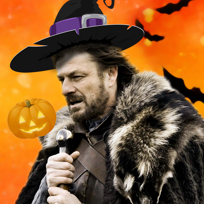 Brace yourselves - Halloween is coming!