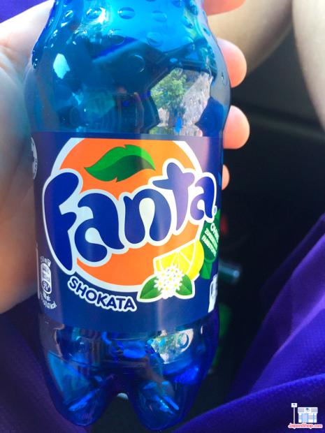 actualidad Combini Lovers curiosidades japon  Probamos Fanta Blue Shokata