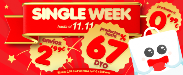"""actualidad japonshop  Celebramos la """"Single Week"""""""