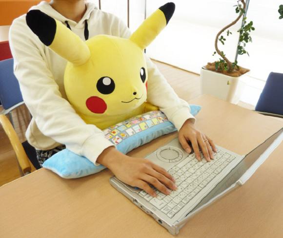 Computer cushion - en Japón lo tienen todos!