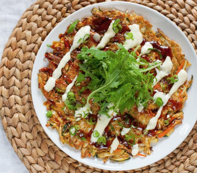 Okonomiyaki rápido! GO!
