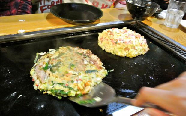 comida japonshop recetas  Okonomiyaki rápido! GO!