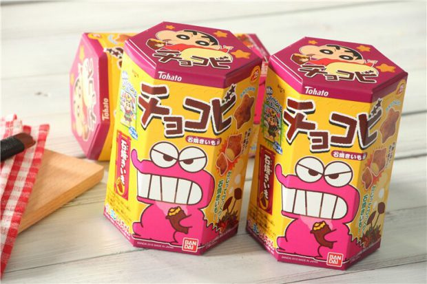 Combini Lovers comida japonshop  Galletitas Shinchan de boniato asado! ???