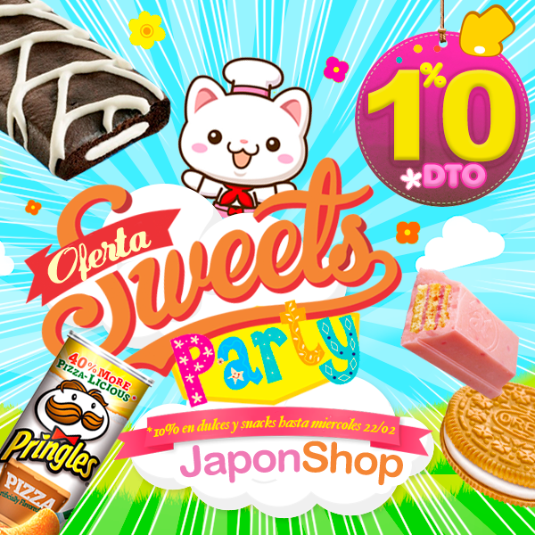 ¡OFERTA Sweets Party!