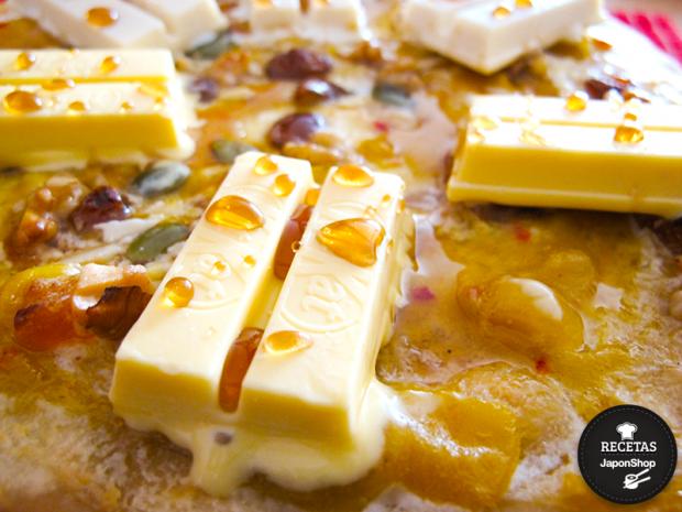 Combini Lovers comida japonshop recetas  Recetas Japonshop: Pizza de Kit Kat especial para hornear