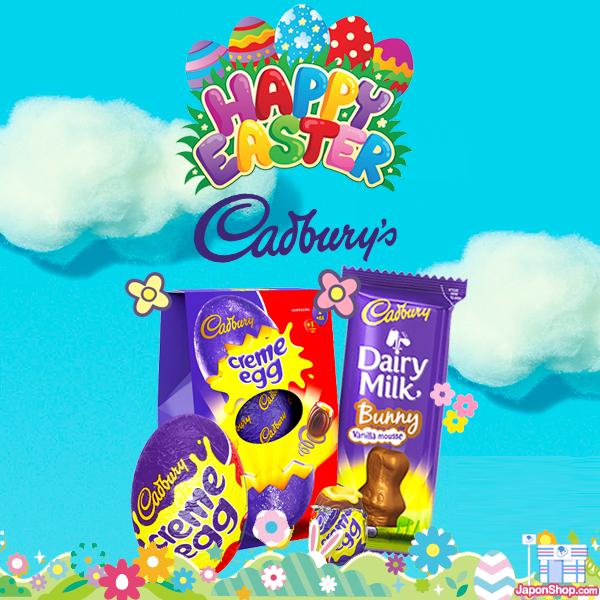 Combini Lovers comida japonshop  Chocolate Cadbury para estas Pascuas en Japonshop