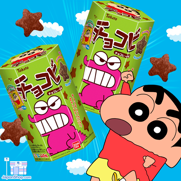 Galletitas Shinchan Chocobi