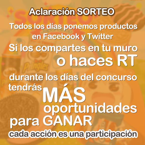 Concursos  Umaru-SORTEO de PRINGLES y OREO!!