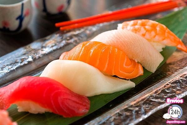 Sushi prepáralo en casa con Japonshop