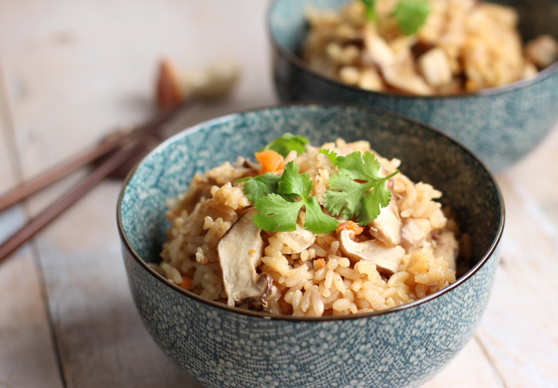 Gohan el arroz de una nación Receta Gomoku