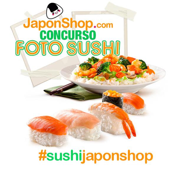 Concurso Instagram Sushi con Japonshop
