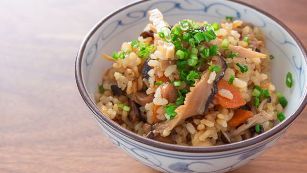 Sin categoría  Gohan el arroz de una nación Receta Gomoku