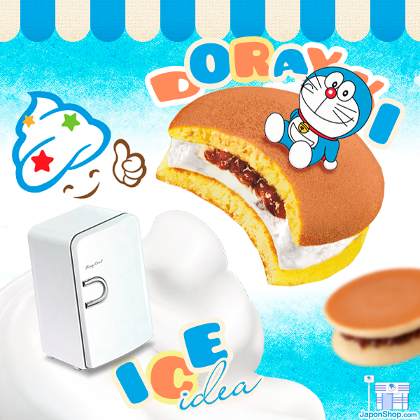 Icecream Dorayaki helado y pastelitos de Doraemon
