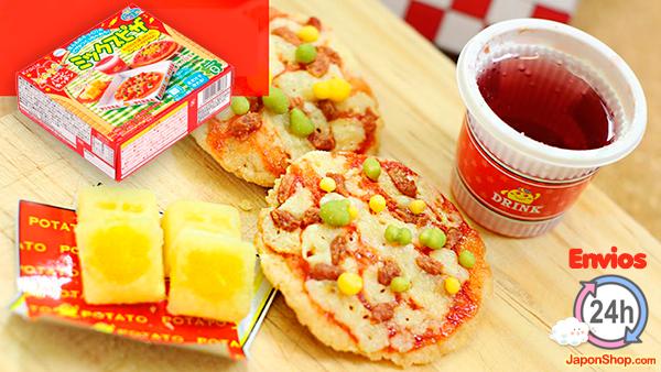 Combini Lovers curiosidades japonshop  Pizza de chuches Popin Cookin! Nuevos envíos a 4,99