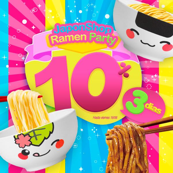 Ramen Party! Descuentos locos hasta el viernes
