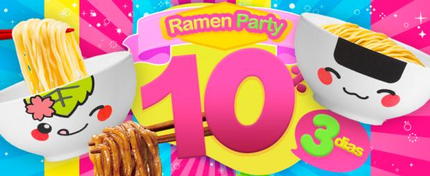 Sin categoría  Ramen Party! Descuentos locos hasta el viernes