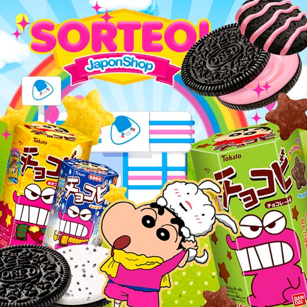 ShinChan y Oreo SORTEO RT y Comparte para ganar