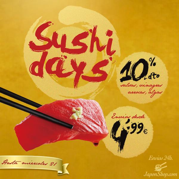 SushiDays celébralo con las OFERTAS de Japonshop