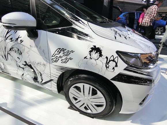 actualidad curiosidades japon  Coche manga Honda X Shonen Jump en Japonshop