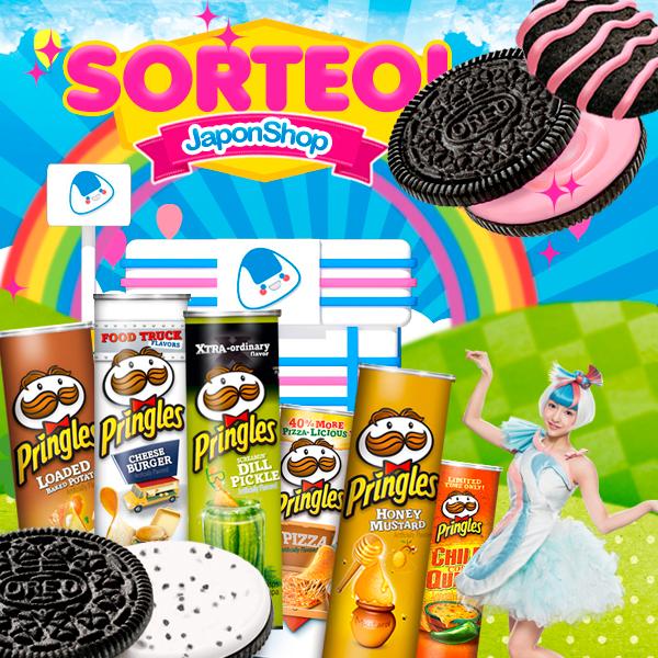 Oreo y Pringles! Nuevo sorteo con Japonshop