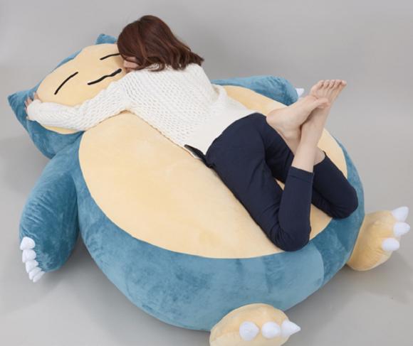 japon japonshop  Snorlax! El Pokemon grandullón que no cabe en tu salón