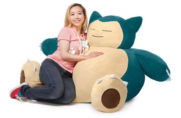 Sin categoría  Snorlax! El Pokemon grandullón que no cabe en tu salón