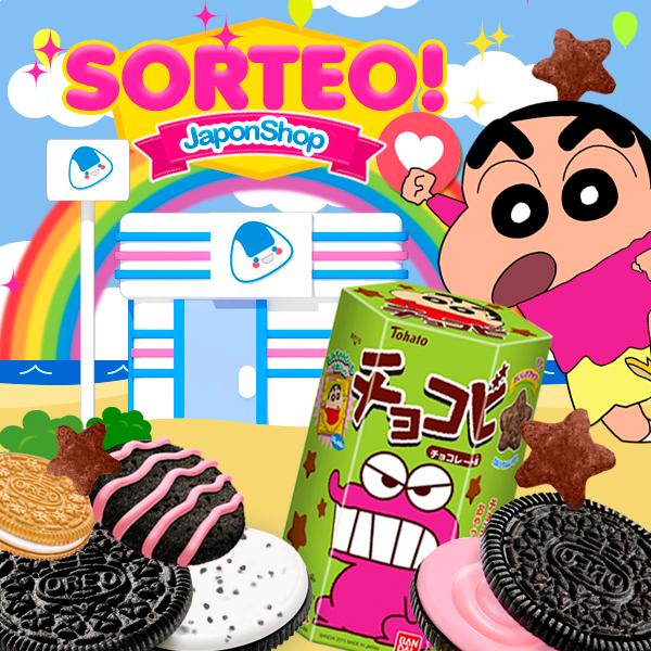 SORTEO Oreo y Chocobi ShinChan en Japonshop!!