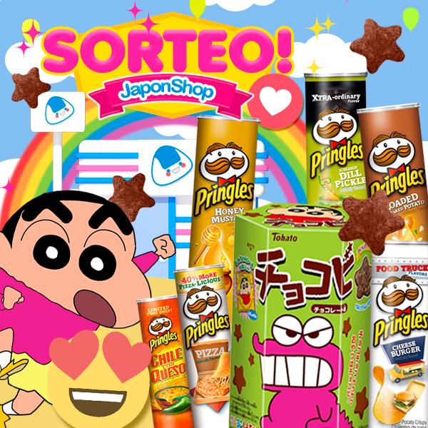 SORTEO Chocobi ShinChan y Pringles en Japonshop!!