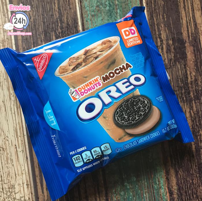Probando nuevas Oreo Mocha Dunkin Donuts!