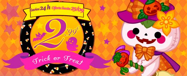 actualidad japonshop  ÚLTIMO DÍA hoy LUNES! Nos asomamos a Halloween con PROMO gastos ENVÍO
