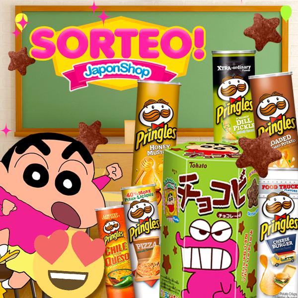 Nuevo SORTEO Chocobi ShinChan y Pringles!!