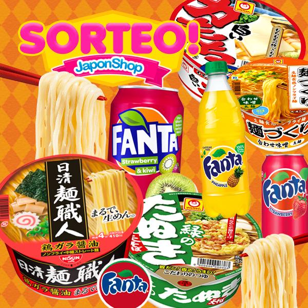 Sorteo Ramen y Fanta! Nueva oportunidad Japonshop!
