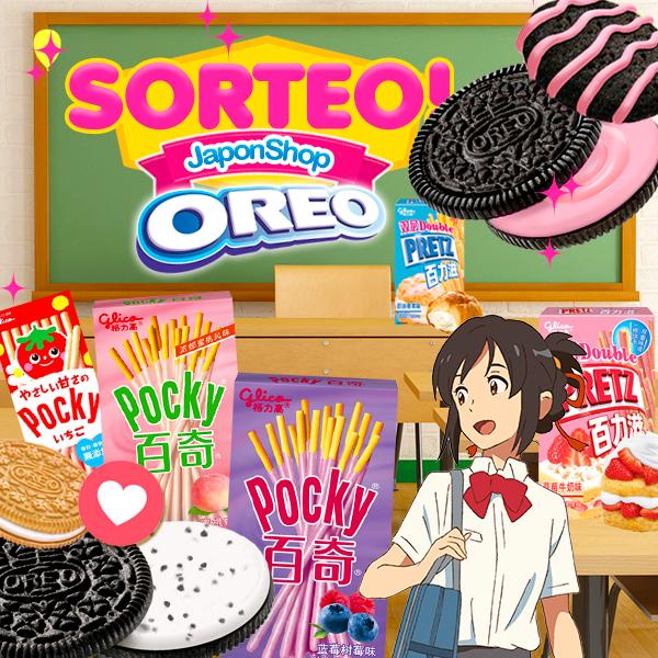 ÚLTIMO DÍA - SORTEO Pocky, Pretz y Oreo en Japonshop!