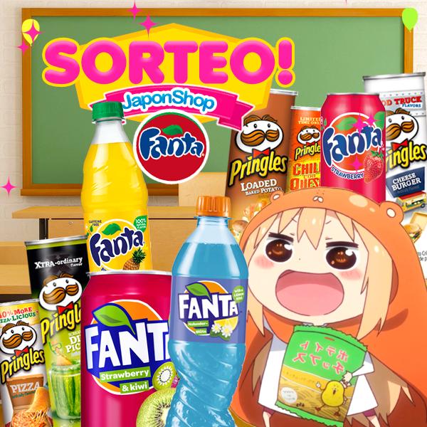 NUEVO Sorteo Fanta y Pringles en Japonshop!!