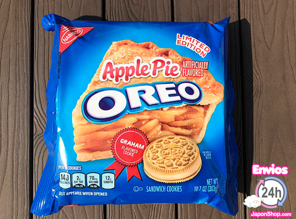 Probando OREOS Apple pie y Crema de Cookies