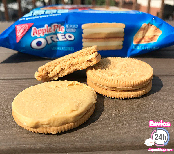 Combini Lovers  Probando OREOS Apple pie y Crema de Cookies