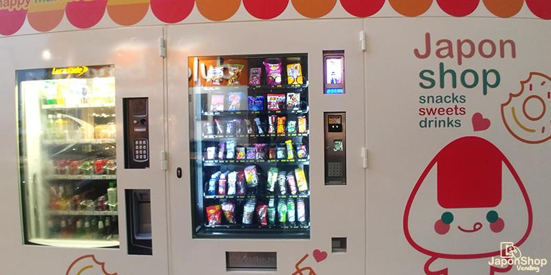 Vending Machine de Japonshop! Japón a un botón!
