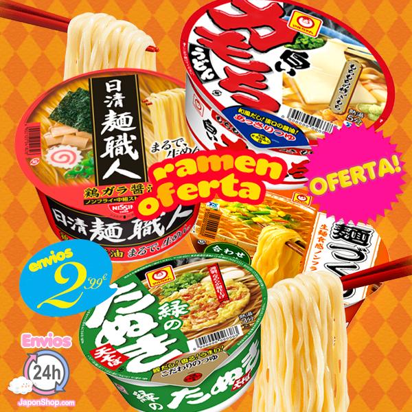 japonshop  ÚLTIMO DÍA! - OFERTA en Ramen y envíos sólo 2,99!! Aprovechad!