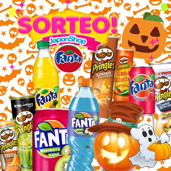 ACTUALIZADO - Fanta y Pringles puedes ganar nuevo SORTEO para disfrutar!