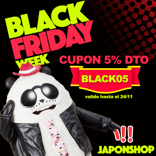 BlackFriday Japonshop CUPÓN DESCUENTO