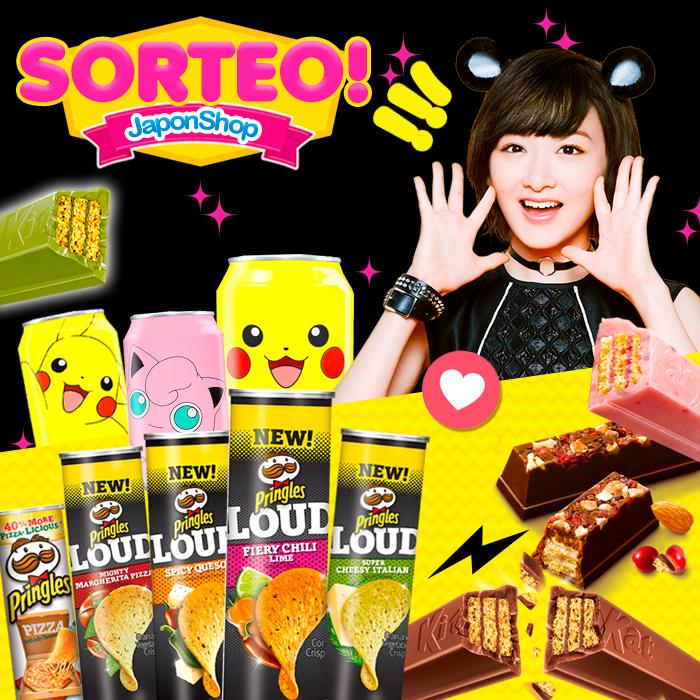 NUEVO SORTEO BlackFriday! KitKat, Pokemon y Pringles!