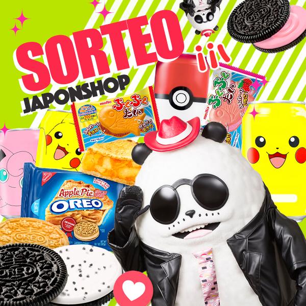 ¡SORTEO con triple premio! Oreo, Taiyaki y Sodas Pokemon!