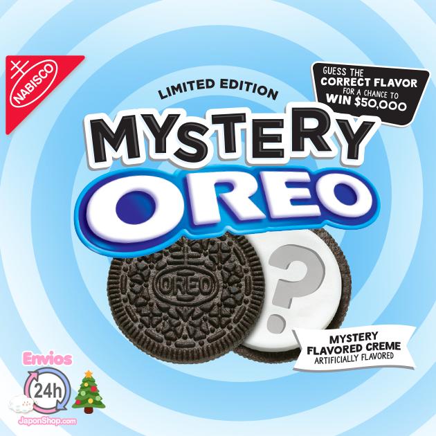 Resuelve el misterio. Cuál será esta variedad de Oreo?