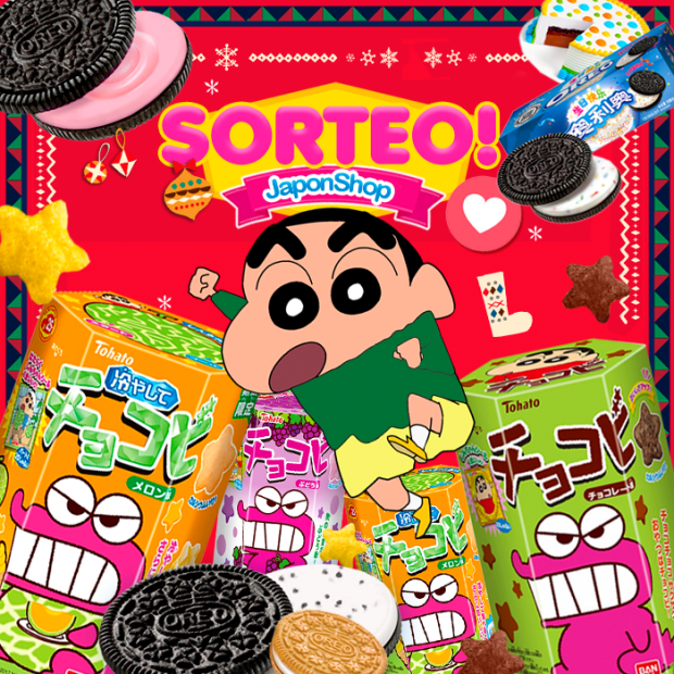 Concursos  Chocobi y Oreo nuevo SORTEO en Japonshop