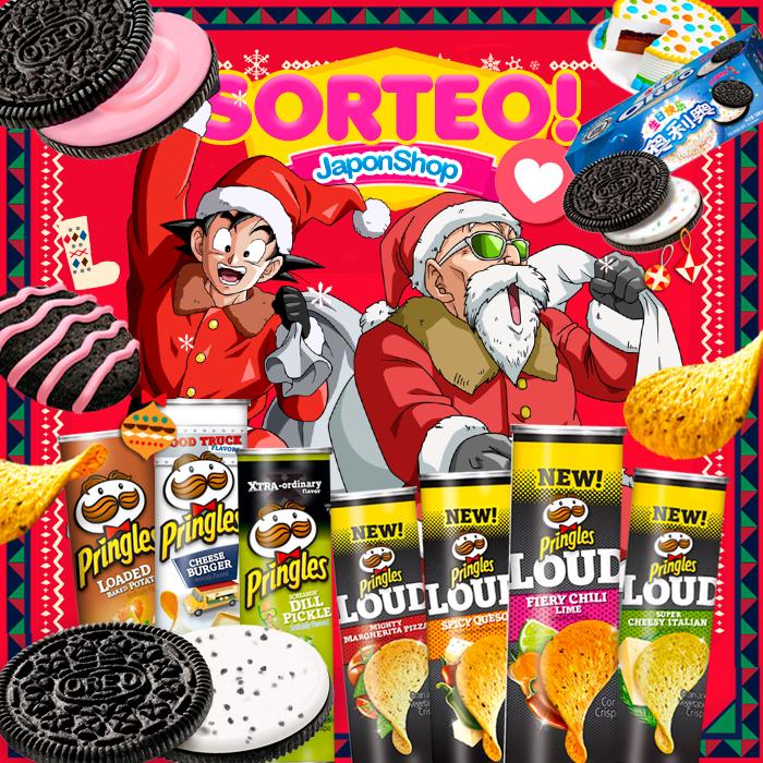 HOHOHO Navidad y Sorteo con Pringles y Oreo